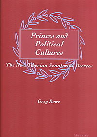 Princes and Political Cultures