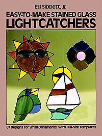Easy to Make Stained Glass Lightcatchers