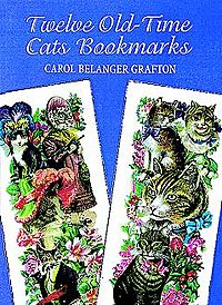 Twelve Old-Time Cats Bookmarks