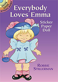 Everybody Loves Emma Sticker Paper Doll