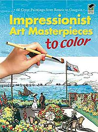 Impressionist Art Masterpieces to Color