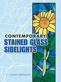 Contemporary Stained Glass Sidelights