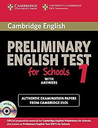 Cambridge Preliminary English Test for Schools 1 with Answers