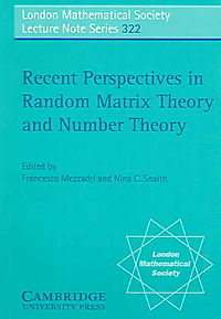 Recent Perspectives in Random Matrix Theory And Number Theory