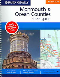 Rand Mcnally Monmouth/ocean County, New York