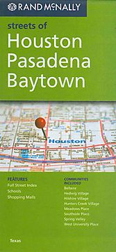 Rand McNally Streets of Houston, Pasadena, Baytown
