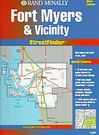 Rand McNally Fort Myers & Vicinity Streetfinder