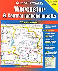 Rand McNally Worcester Streetfinder