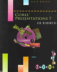 Corel Presentations 7 for Windows 95