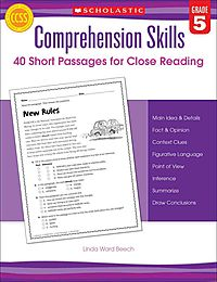 Comprehension Skills, Grade 5