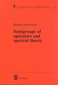 Semigroups of Operators and Spectral Theory