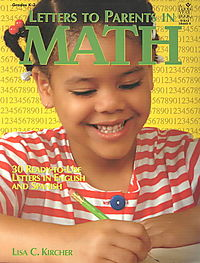 Letters to Parents in Math, Grades K-3
