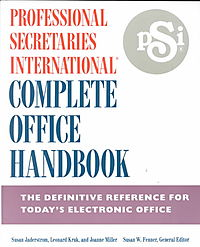 Professional Secretaries International Complete Office Handbook