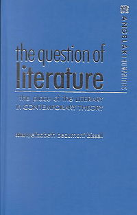 The Question of Literature
