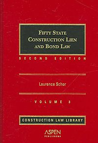 Fifty State Construction Lien and Bond Law