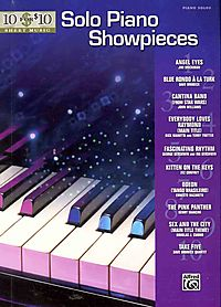 10 for $10 Sheet Music Solo Piano Showpieces
