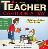 Teacher Cartoon-a-Day 2011 Calendar
