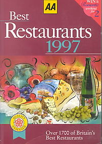 Aa Best Restaurants 1997