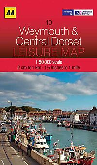Aa Weymouth & Central Dorset Leisure Map