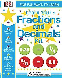 Learn Your Fractions and Decimals Kit