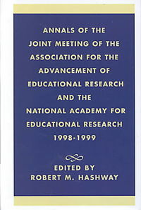 Annals of the Joint Meeting of the Association for the Advancement of Educational Research and the National Academy for Educational Research