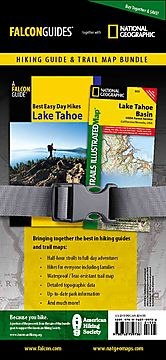 Falcon Guides Best Easy Day Hikes Lake Tahoe/ National Geographic Lake Tahoe Basin Trails Illustrated Map