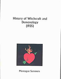 History of Witchcraft and Demonology (1925)