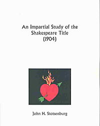 An Impartial Study of the Shakespeare Title 1904