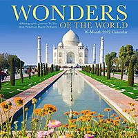 Wonders of the World 16-Month 2012 Calendar
