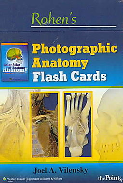 Rohen\'s Photographic Anatomy Flash Cards - Vilensky, Joel A ...