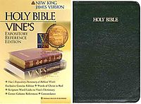 Vine's Expository Reference Edition, Holy Bible