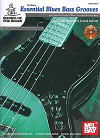 Mel Bay's Essential Blues Bass Grooves