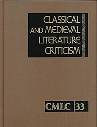 Classical and Medieval Literature Criticism