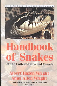 Handbook of Snakes of the United States and Canada