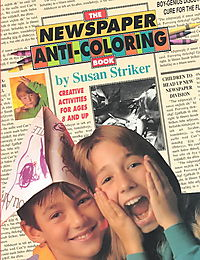 The Newspaper Anti-Coloring Book