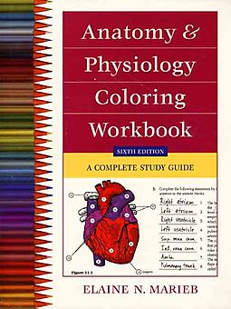Anatomy and Physiology Coloring Workbook - Marieb, Elaine Nicpon ...