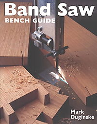 Band Saw Bench Guide