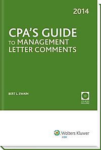 Cpa's Guide to Management Letter Comments, 2014