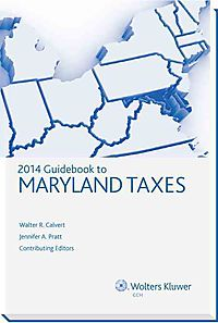 Guidebook to Maryland Taxes, 2014