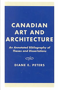 Canadian Art and Architecture