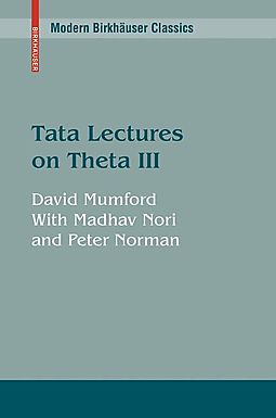 Tata Lectures on Theta III