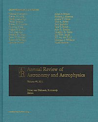 Annual Review of Astronomy and Astrophysics 2011