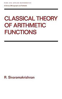 Classical Theory of Arithmetic Functions