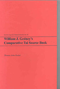 William J. Gedney's Comparative Tai Source Book