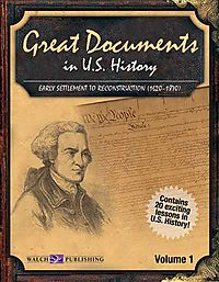Great Documents in U.S. History