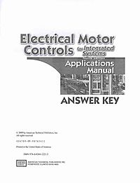 Electrical Motor Controls for Integrated Systems Applications Manual