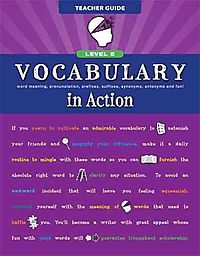 Vocabulary in Action Level E Teacher Guide
