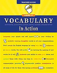 Vocabulary in Action Level F Teacher Guide