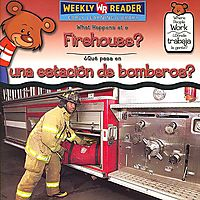 What Happens at a Firehouse?/ Que Pasa En Una Estacion De Bomberos?