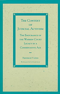 The Context of Judicial Activism